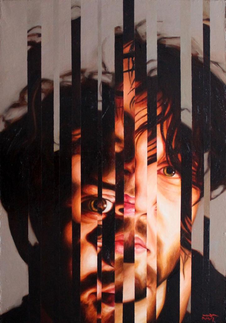 Ivan Gejko - Porträt eines jungen Mannes