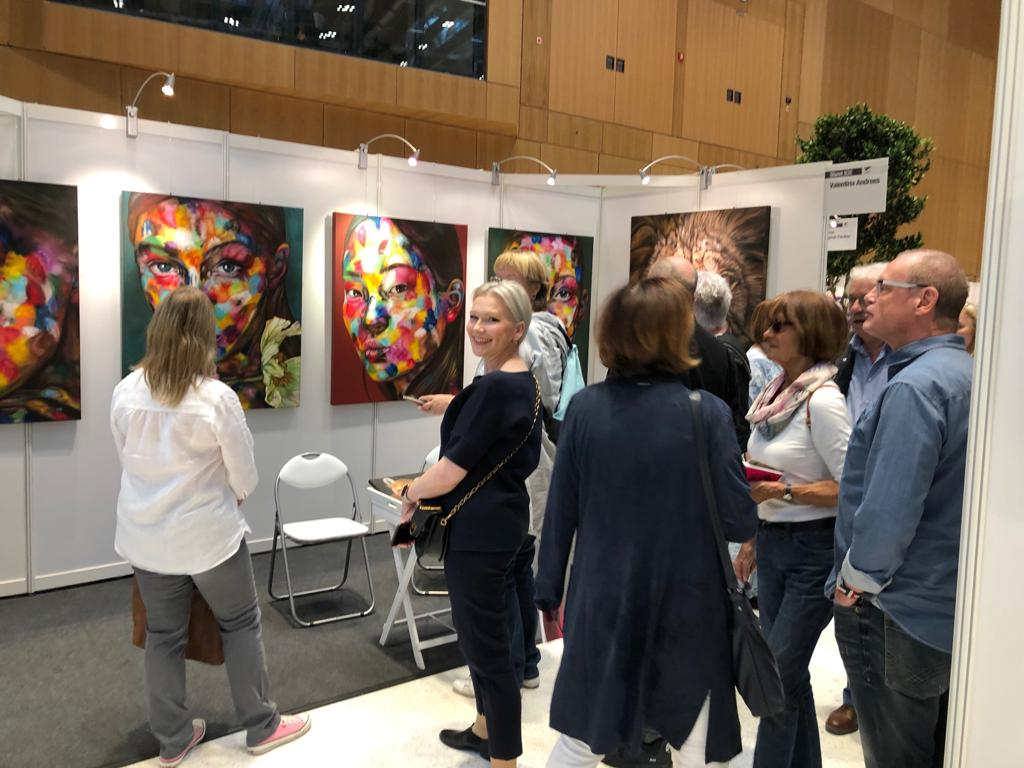 Valentina Andrees-Reschetizka - Art Nordic 2019 Kopenhagen