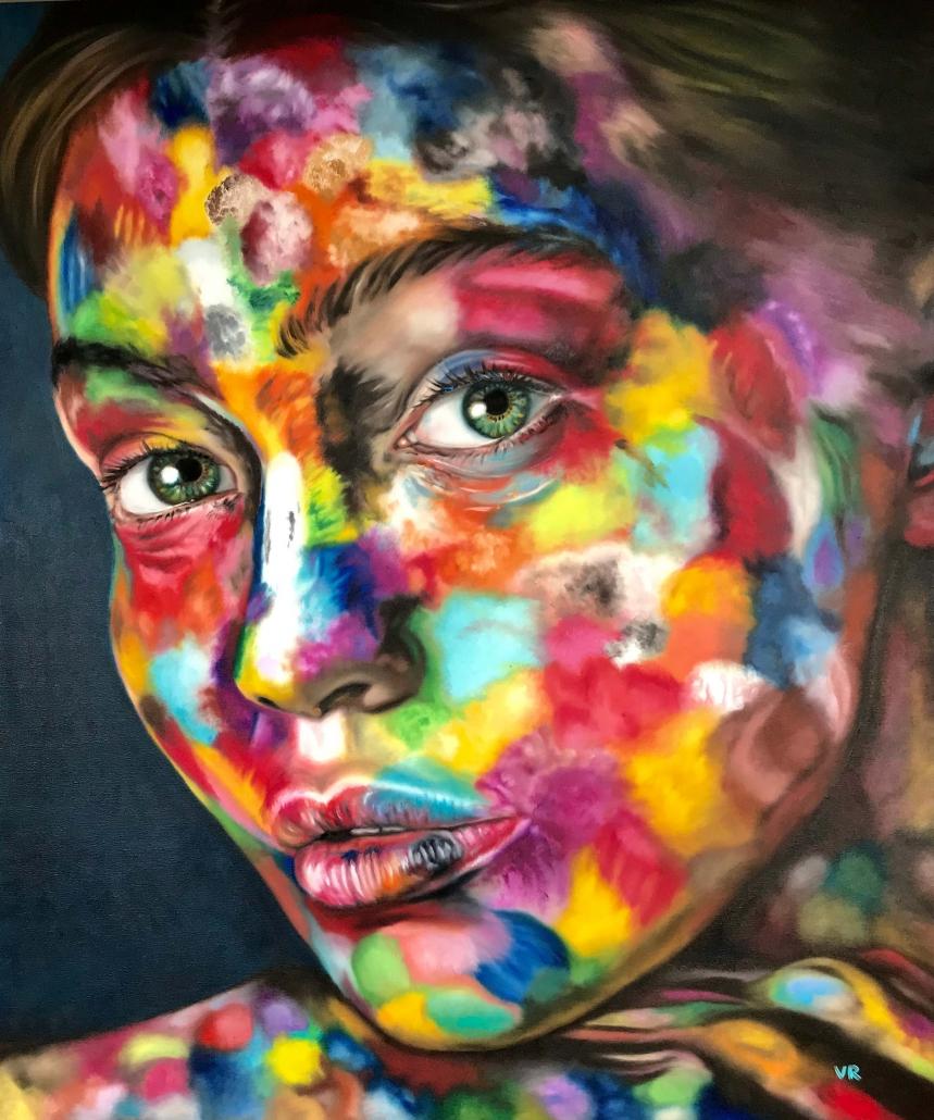 Valentina Andrees-Reschetizka - Amely in Farben