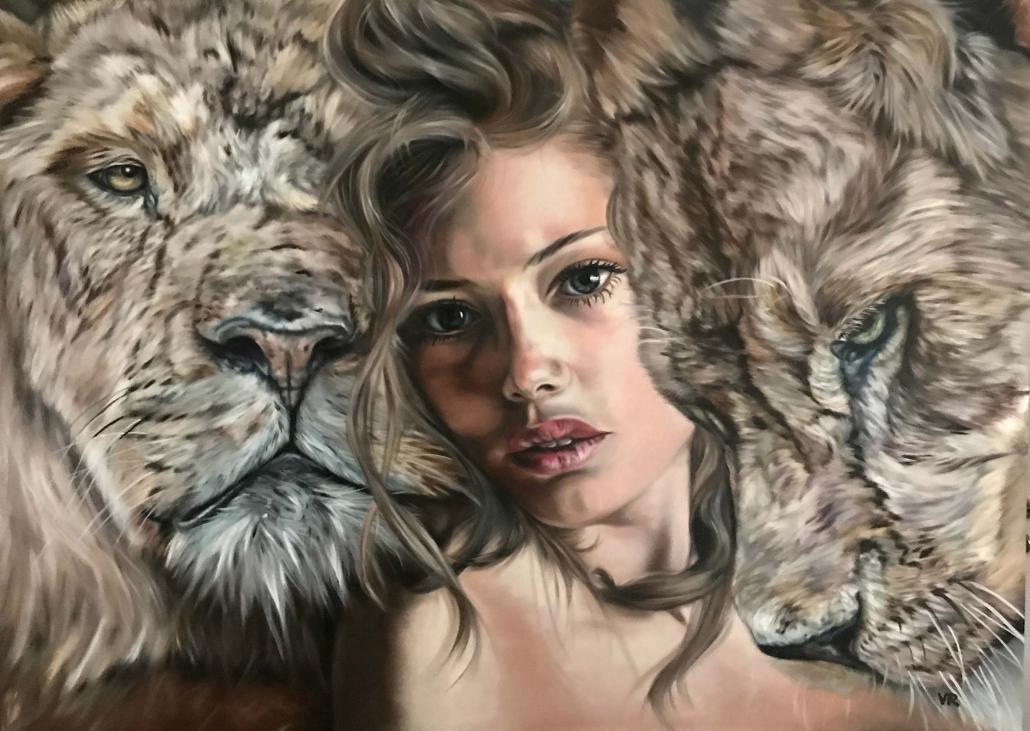 Valentina Andrees-Reschetizka - Königin der Löwen